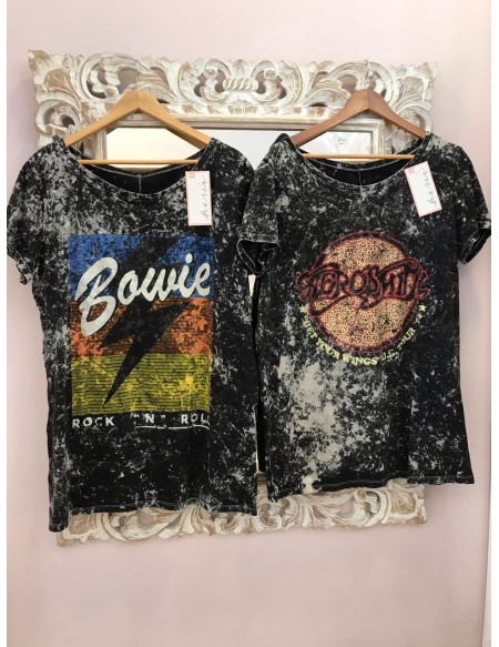 Remera batik Bowie