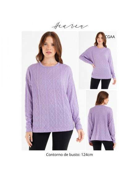 Sweater labrado